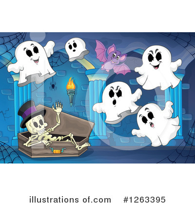 Haunted Hallway Clipart #1263395 by visekart