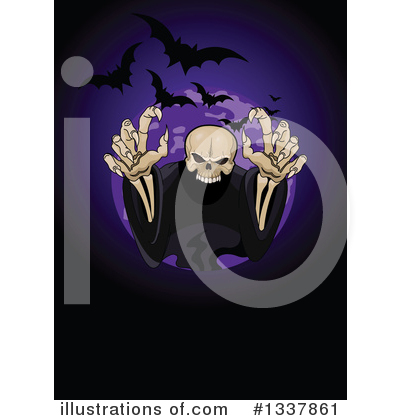 Halloween Clipart #1337861 by Pushkin