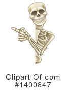 Skeleton Clipart #1400847 by AtStockIllustration