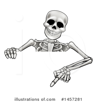 Skeleton Clipart #1457281 by AtStockIllustration