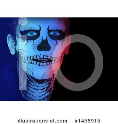 Royalty-Free (RF) Skeleton Clipart Illustration by dero - Stock Sample #1458915