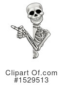 Skeleton Clipart #1529513 by AtStockIllustration
