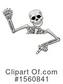 Skeleton Clipart #1560841 by AtStockIllustration