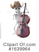Skeleton Clipart #1639964 by Steve Young