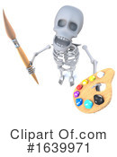 Skeleton Clipart #1639971 by Steve Young