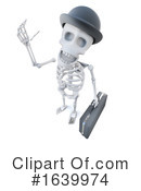 Skeleton Clipart #1639974 by Steve Young
