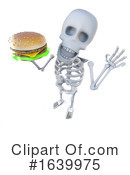 Skeleton Clipart #1639975 by Steve Young