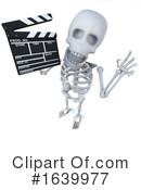 Skeleton Clipart #1639977 by Steve Young