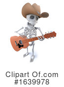 Skeleton Clipart #1639978 by Steve Young