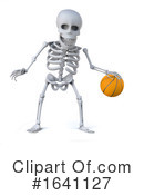Skeleton Clipart #1641127 by Steve Young