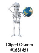 Skeleton Clipart #1681451 by Steve Young