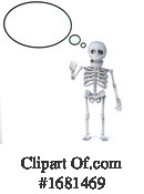 Skeleton Clipart #1681469 by Steve Young
