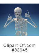 Skeleton Clipart #83945 by Mopic