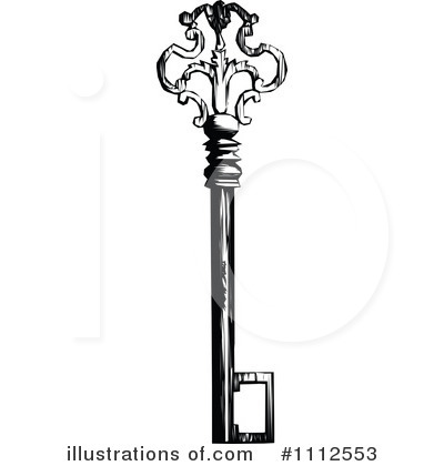Skeleton Key Clipart #1112553 by Prawny Vintage