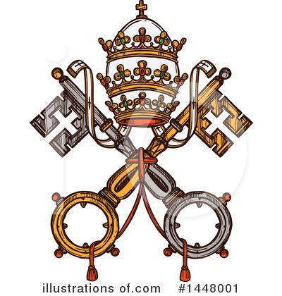 Coat Of Arms Clipart #1448001 by Vector Tradition SM