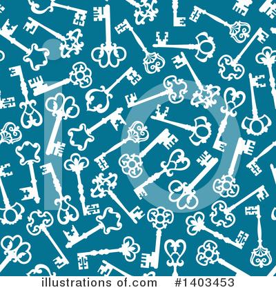 Skeleton Key Clipart #1403453 by Vector Tradition SM