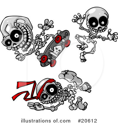 Skeletons Clipart #20612 by Tonis Pan