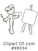 Royalty-Free (RF) Sketched Design Mascot Clipart Illustration #98034