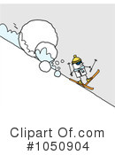 Skiing Clipart #1050904 by NL shop