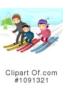 Skiing Clipart #1091321 by BNP Design Studio