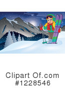 Skiing Clipart #1228546