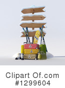 Skiing Clipart #1299604