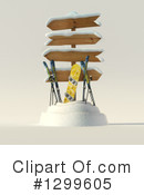 Skiing Clipart #1299605