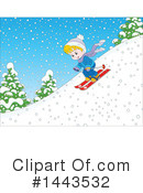 Skiing Clipart #1443532