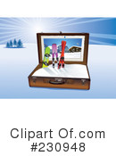 Skiing Clipart #230948 by Eugene