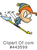Skiing Clipart #443599