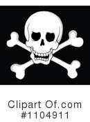 Skull And Crossbones Clipart #1104911 by visekart