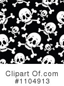 Skull And Crossbones Clipart #1104913 by visekart