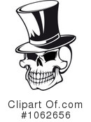 Skull Clipart #1062656 by Vector Tradition SM