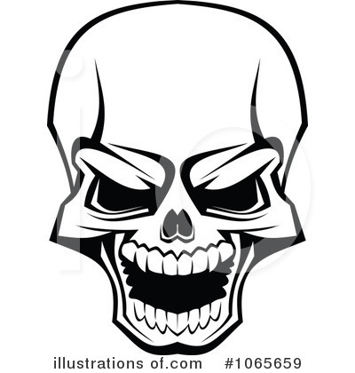 skull clipart 1065659 illustration by vector tradition sm rh illustrationsof com clip art skull and crossbones free clipart skull and crossbones free