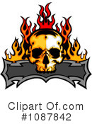 Skull Clipart #1087842 by Chromaco
