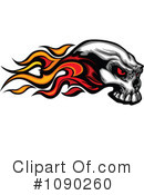 Royalty-Free (RF) Skull Clipart Illustration #1090260