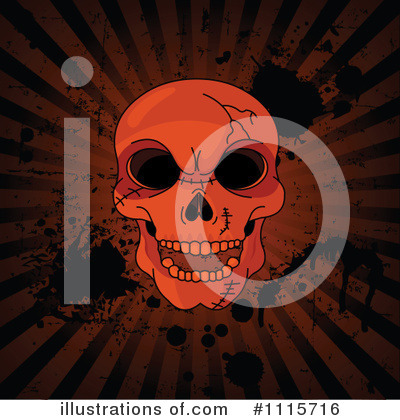 Skull Clipart #1115716 by Pushkin