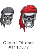 Skull Clipart #1117077 by Vector Tradition SM