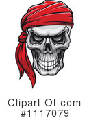 Royalty-Free (RF) Skull Clipart Illustration #1117079