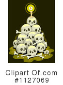 Royalty-Free (RF) Skull Clipart Illustration #1127069