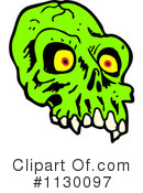 Royalty-Free (RF) Skull Clipart Illustration #1130097
