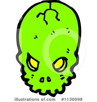 Skull Clipart #1130098 by lineartestpilot