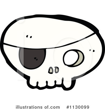 Skull Clipart #1130099 by lineartestpilot