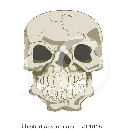 Skeleton Clipart #11615 by AtStockIllustration