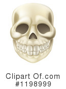 Skull Clipart #1198999 by AtStockIllustration