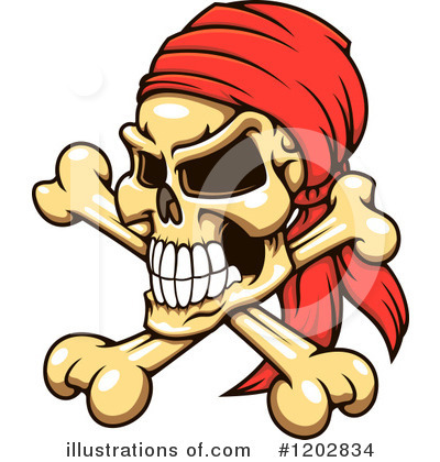 Pirate Clipart #1202834 by Vector Tradition SM
