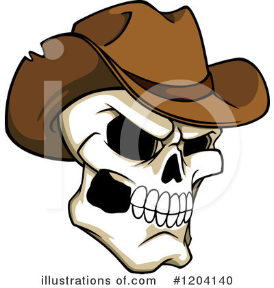 Cowboy Clipart #1204140 by Vector Tradition SM