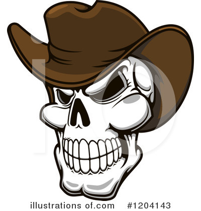 Cowboy Clipart #1204143 by Vector Tradition SM