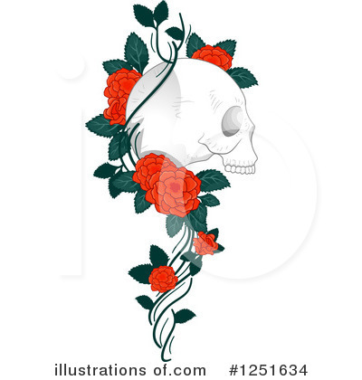 Rose Clipart #1251634 by BNP Design Studio