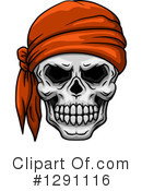 Skull Clipart #1291116 by Vector Tradition SM